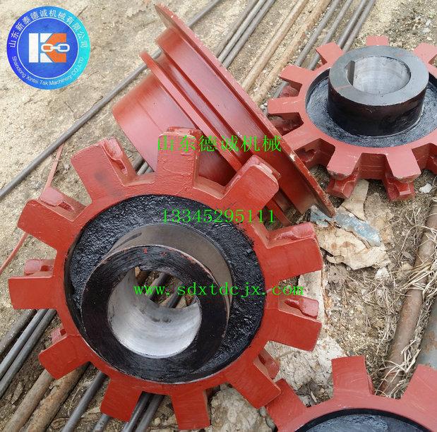铸石刮板机链轮|链轮系列-山东省新泰德诚机械有限公司
